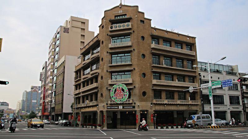 台湾・台南のレトロなデパート「林百貨店」