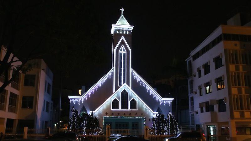 台湾・台南にある初めてのキリスト教会の一つ、太平境キリスト教会