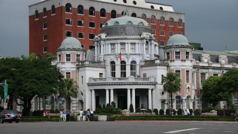 台湾・台北市内の訪れるべき歴史建造物:監察院