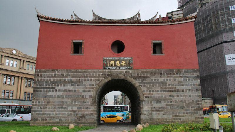 台湾・台北市内の訪れるべき歴史建造物:台北府城・北門