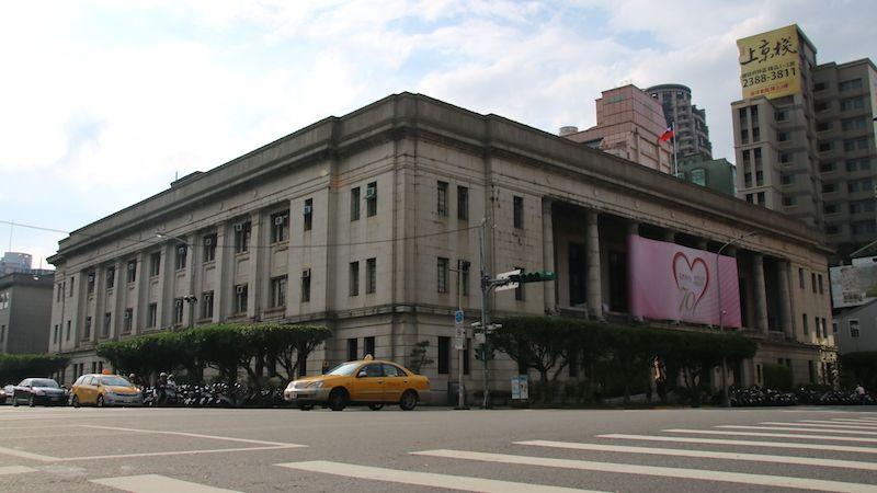 台湾・台北市内の訪れるべき歴史建造物:台湾銀行