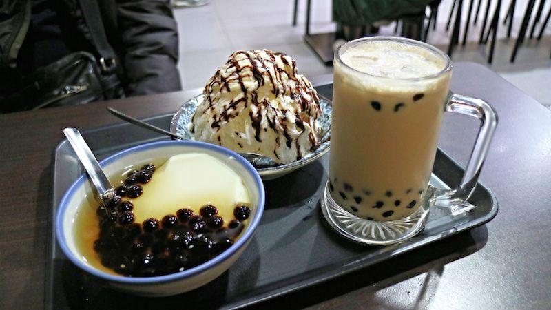 台湾観光おすすめスイーツ:豆花の名店「古早味豆花」