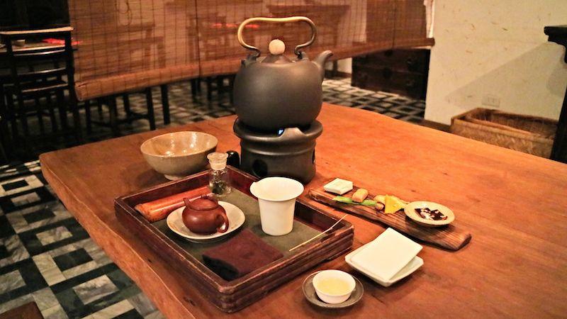 台湾旅行おすすめ茶藝館:台北の師範大そばの隠れ家「小慢」