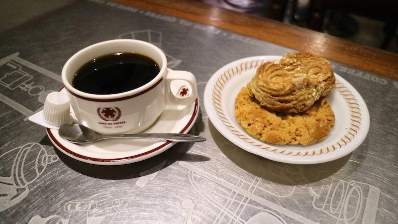 台湾おすすめカフェ:西門の老舗カフェ、蜂大咖啡
